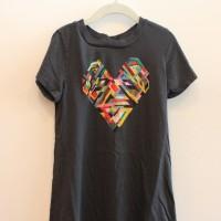BLACK GEO HEART 1