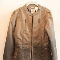 GLAZED LEATHER JKT 1